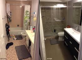 Bathroom Remodels Before And After Small Bathroom Remodel Before And After Photos Brightpulse Us