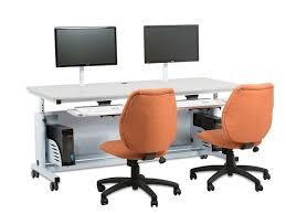 Adjustable Computer Desk Deluxe Height Adjustable Computer Table Ctl Versatables Com