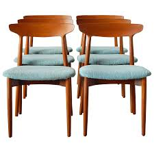 Scandinavian Teak Dining Room Furniture With Goodly Teak Furniture - Danish teak dining room table and chairs