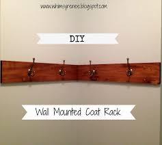 wall mount coat rack downtonalley co