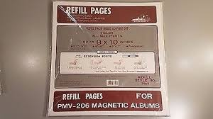magnetic photo album refill pages pioneer x pando magnetic album refill pmv pmv206 5 95 picclick