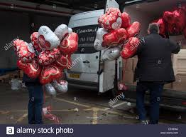 valentines balloons wholesale vauxhall london uk 12th february 2014 wholesale vendors load