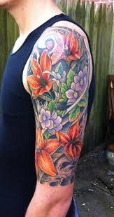 lillies half sleeve color 002 jpg 421 800 flower