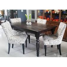 Safavieh Dining Room Chairs by Safavieh En Vogue Dining Lester Grey Zebra Dining Chairs Set Of 2
