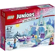 lego juniors anna u0026 elsa u0027s frozen playground 10736 toys