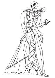 33 disney nightmare christmas coloring pages disney