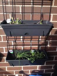 herb wall balcony gardening update the wall planter