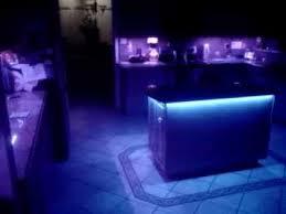 custom cabinet multi color led lighting