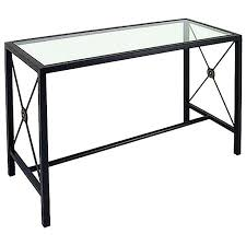 Iron Console Table Neoclassic Console Table Wrought Iron Glass Top Dcg Stores