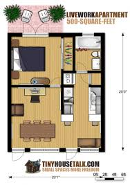 Small Apartment Design For LiveWork D Floor Plan And Tour Photo - Apartment house plans designs