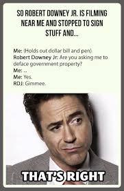 Robert Memes - badass robert downey jr weknowmemes