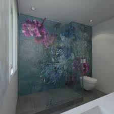 tapeten für badezimmer zauberhaft tapeten furs badezimmer ideen genial
