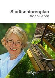 Kindergarten Baden Baden Stadtseniorenplan Stadt Baden Baden