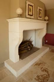 incredible white limestone fireplace mantels design ideas with