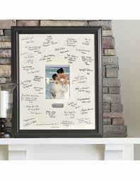 wedding wishes photo frame engraving plate and wedding signature frame guest book signature