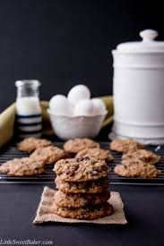 classic oatmeal raisin cookies little sweet baker