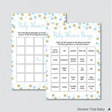 star baby shower bingo cards printable blank bingo cards and