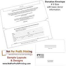sample layouts u0026 designs for donation envelopes and remittance