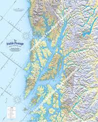 Southeast Alaska Map Inside Passage Route Planning Map North Portion Don U0026 Réanne