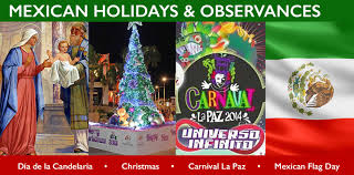 mexican holidays and observances in mexico calendar of celebrations