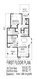 narrow home floor plans plans home plans for narrow lots
