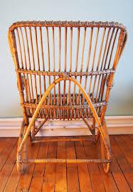 bureau en rotin fauteuil en rotin pour adulte vendu génération vintage