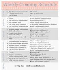 seasonal home maintenance schedule template schedule templates