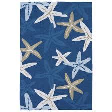 starfish towel coastal starfish wool area rug 5 x 8 free shipping today