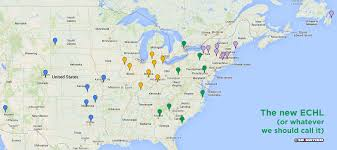 Nba Divisions Map It U0027s Time To Drastically Overhaul Minor League Hockey In North