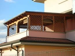 tettoia in legno per terrazzo tettoia addossata a parete in legno lamellare