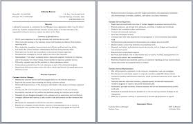 Service Management Resume Sample Customer Service Call Center Resume Resume Template And
