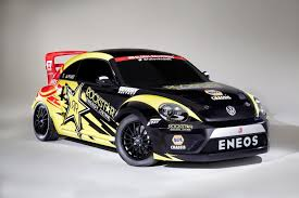 volkswagen cars beetle volkswagen beetle global rallycross car debuts at chicago auto