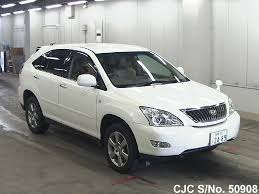 2008 toyota harrier pearl for sale stock no 50908 japanese