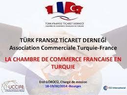 chambre de commerce de bourges présentation marché turc