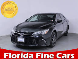 used 2015 toyota camry for used 2015 toyota camry xse sedan for sale in miami fl 81536
