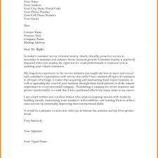 example cover letter for customer service cover letter quality
