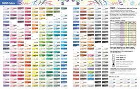 copic markers color chart sketch 25 unique copic marker color