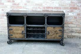 Metal Bar Cabinet Industrial Bar Cabinet Justinlover Info