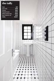 black white bathrooms ideas 25 best ideas about bathroom renovation cost on