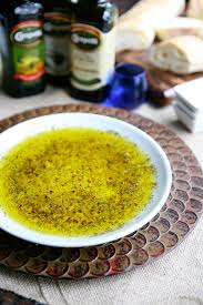 eclectic recipes garlic and herb olive oil dip with carapelli