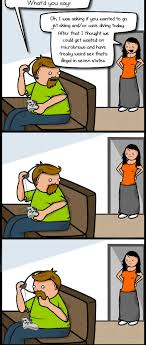 Meme Comics Online - what it s like to play online games as a grownup the oatmeal