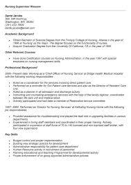 resume sample for nursing supervisor resume ixiplay free resume