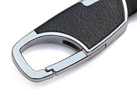 key rings mens images Andygo men 39 s leather key chain keychain upscale car key ring jpg