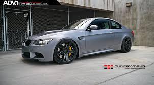 Bmwe92 Matte Silver Bmw E92 M3 Adv5 M V2 Sl Gloss Black Wheels Adv 1