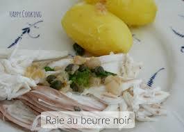 cuisiner la raie au beurre noir raie au beurre noisette cooking