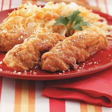 southern fried chicken strips recipe taste of home