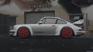 1991 porsche 911 turbo rwb 1991 porsche 911 964 turbo hoonigan u0026 rauh welt hq add on