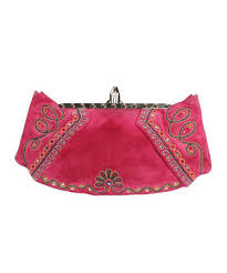 christian louboutin pink suede embroidered bag u2013 c madeleine u0027s