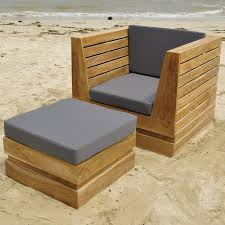 Patio Chair And Ottoman Set Willow Creek Patio Furniture Club Chair Set Wc 7