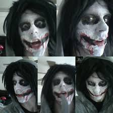 Jeff Killer Halloween Costume Jeff Killer Makeup Attempt 2 Maniac Titan Deviantart